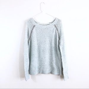 Anthropologie Sleeping On Snow Jewel Knit Sweater